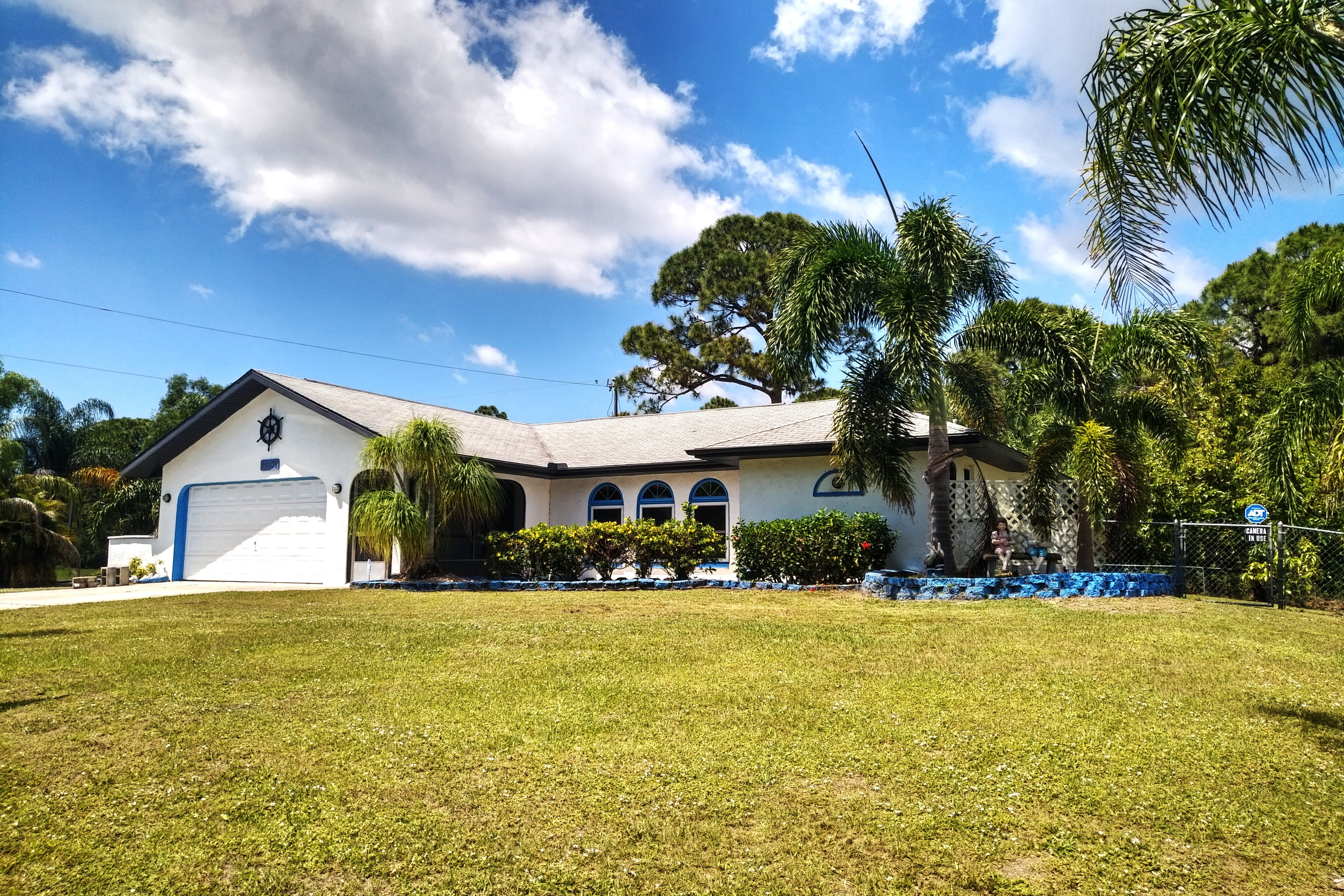 Nautical Port Charlotte, Florida house for sale.