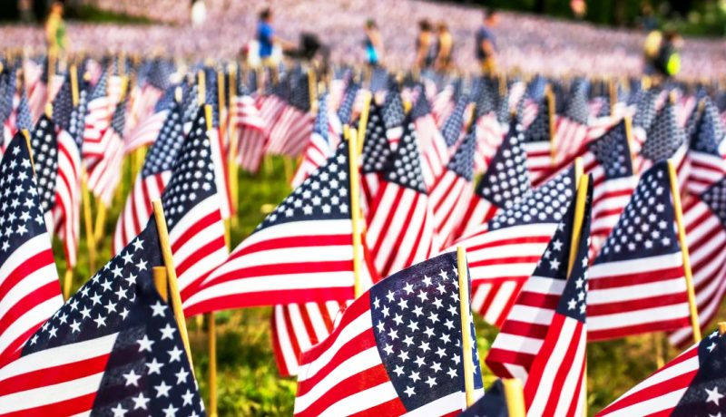 va loan flag for memorial day