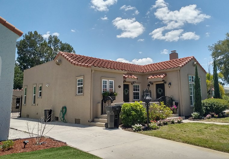 Spanish style home estimate Florida.