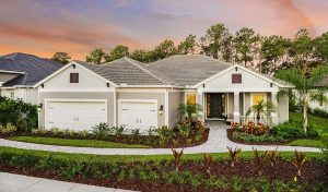 Captiva Model homes for sale in Grand Palm Venice Florida exterior.