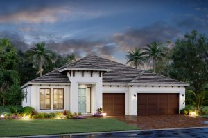 Crystal home model homes for sale in Oasis Venice Florida.