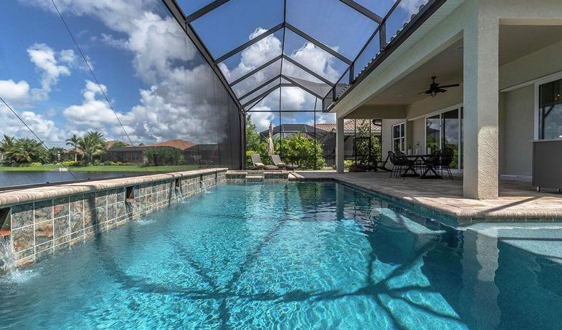 Pool homes for sale in Gran Paradiso Venice Florida