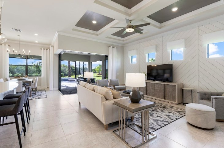 Homes for sale in Islandwalk Venice Florida inside model.