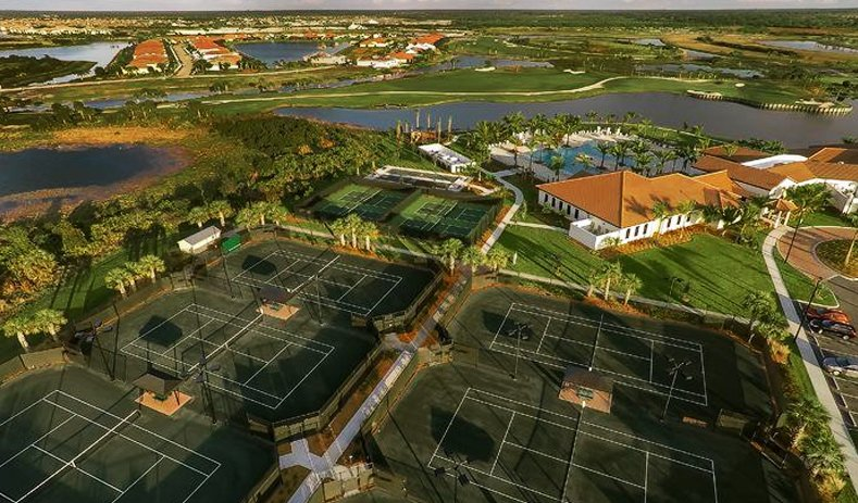 Sarasota National Golf course in Venice Florida Tennis