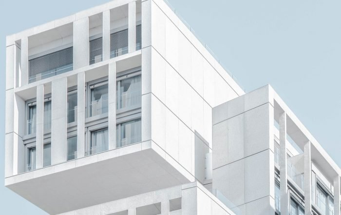 Modern Multifamily real estate investment building