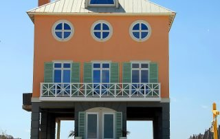 Duplex looking home on the beach florida