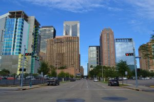 Downtown Houston commercial real estate
