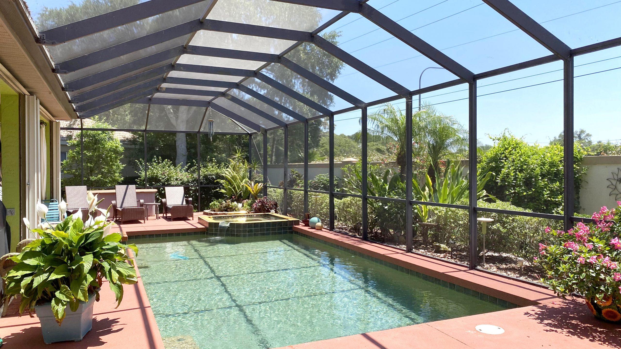 Pool home 107 wayforest venice florida.