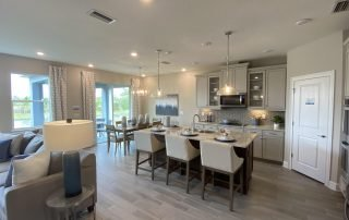 Buying a house in Florida with a nice kitchen.
